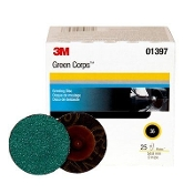 3M-1396 - 3M™ Green Corps™ Roloc™ Disc, 2 in, 50 grade (25)
