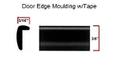 CT-1050 - Door Edge Moulding w/Tape 50ft